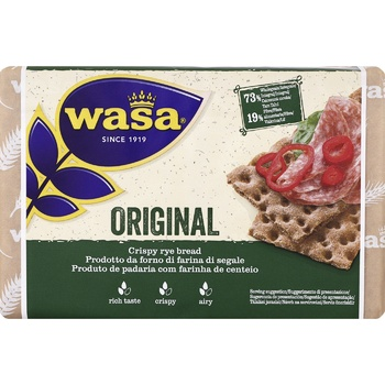 Wasa Original Rue Crispbreads 275g - buy, prices for CityMarket - photo 1