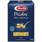 Макаронні вироби Barilla Piccolini Mini Farfalle 500г