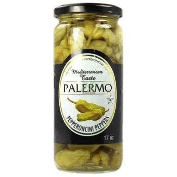 Перець острый Palermo пеперончини пастеризованный 500мл - купить, цены на Novus - фото 1