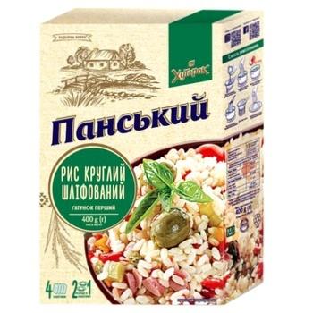 Рис Хуторок Панский круглозернистый 400г