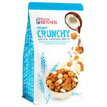 Doctor Banner Coconut Crunches 375g - buy, prices for CityMarket - photo 1