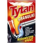 Гранулированное средство для труб Tytan 40г