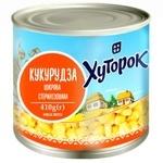 Кукуруза Хуторок сахарная 410г - купить, цены на Ашан - фото 2