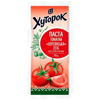 Tomato paste Khutorok 70g 25%