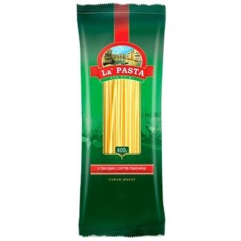 Макароны Ла Паста спагетти 400г - купить, цены на Таврия В - фото 1