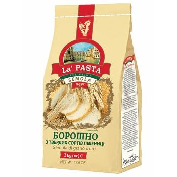 Борошно Ла Паста пшеничне з твердих сортів 1кг - купити, ціни на Метро - фото 1