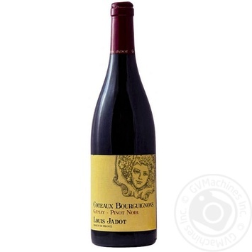 Louis Jadot Coteaux Bourguignons Gamay Pinot Noir Red Dry Wine 12% 0,75l - buy, prices for CityMarket - photo 1