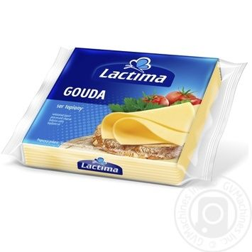 Processed cheese Lactima Gouda sliced 36.2% 8x16.25g