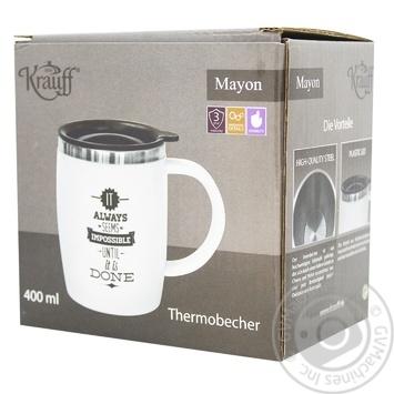 Термокружка Krauff 400мл 26-285-003 - купити, ціни на МегаМаркет - фото 2
