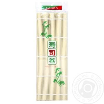 Коврик бамбуковий JS 27см 1шт - купить, цены на Novus - фото 1