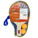 Ракетки Beles для настільного тенісу з м'ячиками в чохлі 2шт