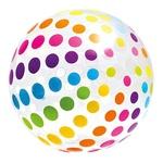 Мяч Intex цветной надувной 107см