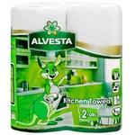 Alvesta Two-ply Paper Towels 2rolls