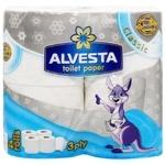 Alvesta Classic Three-ply Toilet Paper 4rolls