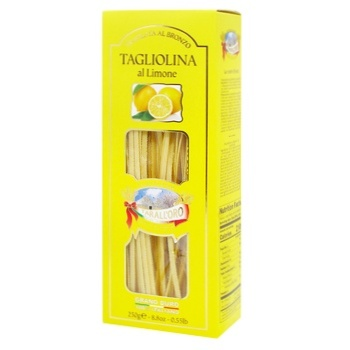 Макароны Tarall`oro Tagliolina с лимоном аль-бронзо 250г