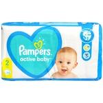 Подгузники Pampers Active Baby Mini 4-8кг 64шт