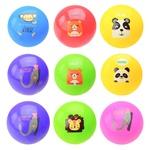 Мяч резиновый 3 цвета в сетке