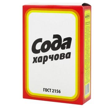 Сода Впрок пищевая 350г