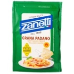 Сыр Занетти грана падано твердый тертый 32% 100г
