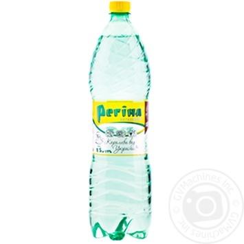 Still natural mineral water Regina plastic bottle 1500ml Ukraine