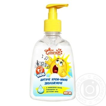 Soap-cream Yasne sonechko with chamomile for children 300ml - buy, prices for Furshet - image 2