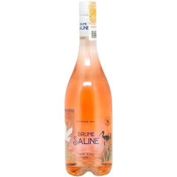 Вино Brume Saline розовое сухое 12,5% 0,75мл