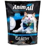Наполнитель AnimAll Голубая долина силикогелевий для кошек 3,8л