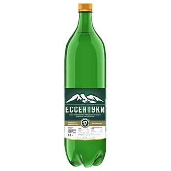 Essentuki №17 mineral carbonated water 1,5l - buy, prices for Novus - image 1