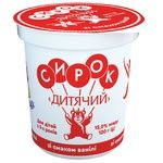 Slovianochka Cottage Cheese for Children with Vanillin 15% 120g