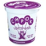 Slovianochka Cottage Cheese for Children with Raisins 8% 120g