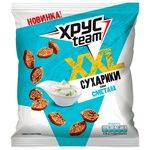 Khrusteam Sour Cream Flavored Wheat-Rye Crackers 150g