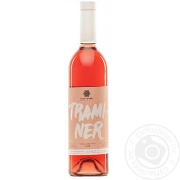 Вино Kubey Winery Traminer розовое полусухое 11% 0,75л