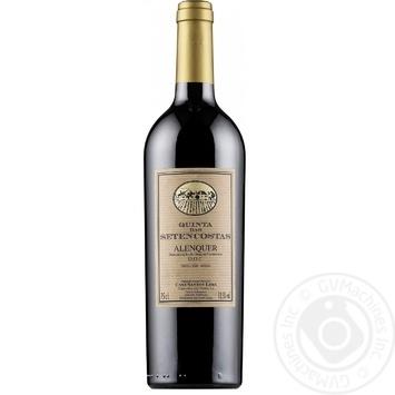 Вино Quinta Das Setencostas красное сухое 13.5% 0.75л