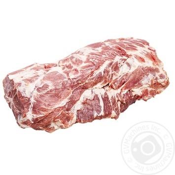 Ошеек свиной охлажденный без кости - купить, цены на Novus - фото 1