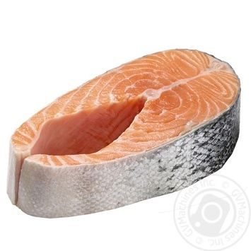 Стейк лосося охлажденный - купить, цены на Novus - фото 1