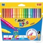 Фломастеры Bic Kids Visa 18шт