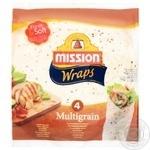 Mission Foods Wraps Tortilla Multi-grain 4pcs. 245g