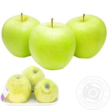 Яблоко Голден фасовка - купить, цены на МегаМаркет - фото 1