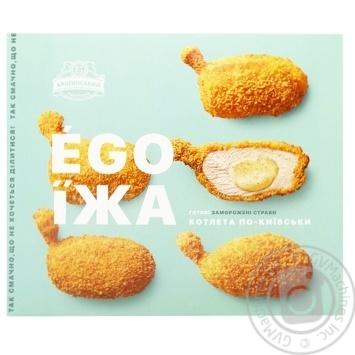 Котлета по-киевски Бащинский Ego Їжа 400г - купить, цены на МегаМаркет - фото 1