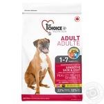Корм сухой 1st Choice Adult с ягненком и рыбой для собак всех пород от 12мес 2.72кг