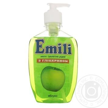 Мыло жидкое Emili яблоко 500г