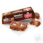 Шербет Майстерня карамелі 50г з волоськими горіхами та шоколадною масою