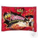Instant Ramen with Chicken Taste is Very Hot Spicy 140g