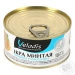 Икра Минтая пробойная слабосоленая Veladis 120г