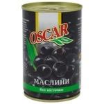 Маслины Oscar без косточки 300г