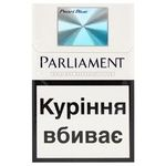 Cigarettes Parliament Pearl Blue