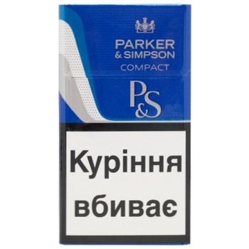 Parker&Simpson C-Line Blue Cigarettes - buy, prices for CityMarket - photo 1