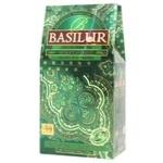 Чай Basilur Марокканська м'ята зелений розсипний 100г