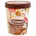 Мороженое Varto Пломбир шоколадное 12% 500г
