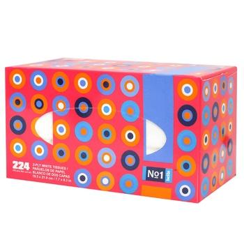Платочки Bella №1 бумажные двухслойные 224шт - купить, цены на Метро - фото 2